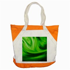 Wave Accent Tote Bag