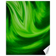 Wave Canvas 11  X 14  (unframed)