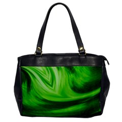 Wave Oversize Office Handbag (One Side)