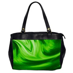 Wave Oversize Office Handbag (two Sides)