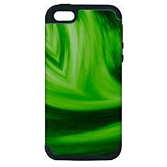 Wave Apple Iphone 5 Hardshell Case (pc+silicone)