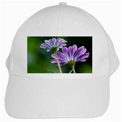 Flower White Baseball Cap