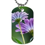 Flower Dog Tag (One Sided) Front