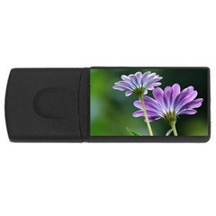 Flower 1GB USB Flash Drive (Rectangle)