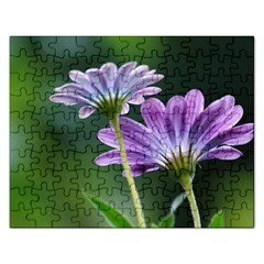 Flower Jigsaw Puzzle (Rectangle)