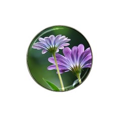 Flower Golf Ball Marker 4 Pack (for Hat Clip)