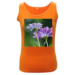 Flower Womens  Tank Top (dark Colored)