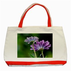 Flower Classic Tote Bag (red)
