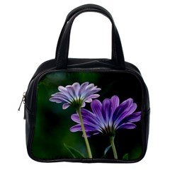 Flower Classic Handbag (One Side)