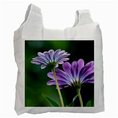 Flower Recycle Bag (one Side)