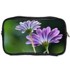 Flower Travel Toiletry Bag (Two Sides)