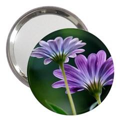 Flower 3  Handbag Mirror