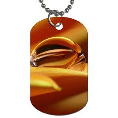 Waterdrop Dog Tag (One Sided)