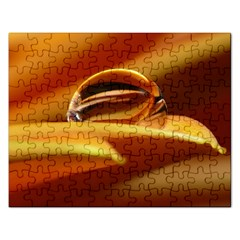 Waterdrop Jigsaw Puzzle (rectangle)