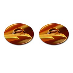 Waterdrop Cufflinks (oval)