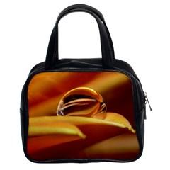 Waterdrop Classic Handbag (Two Sides)