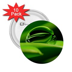 Waterdrop 2.25  Button (10 pack)