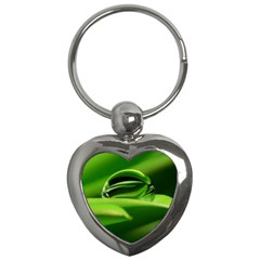 Waterdrop Key Chain (Heart)