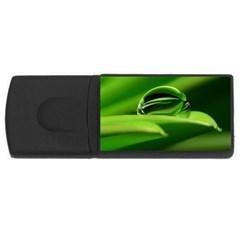 Waterdrop 2GB USB Flash Drive (Rectangle)