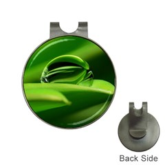 Waterdrop Hat Clip with Golf Ball Marker