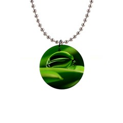 Waterdrop Button Necklace
