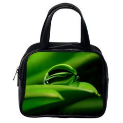 Waterdrop Classic Handbag (one Side)