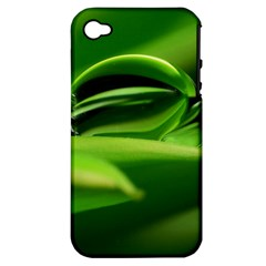 Waterdrop Apple iPhone 4/4S Hardshell Case (PC+Silicone)