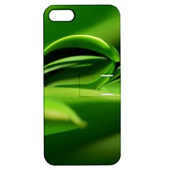 Waterdrop Apple Iphone 5 Hardshell Case With Stand
