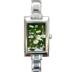 Magic Balls Rectangular Italian Charm Watch