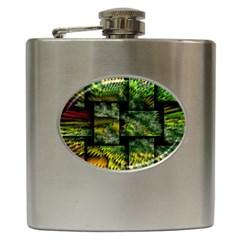 Modern Art Hip Flask