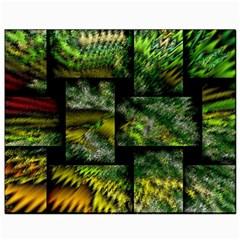 Modern Art Canvas 8  X 10  (unframed)