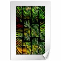 Modern Art Canvas 24  x 36  (Unframed)