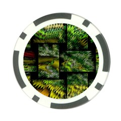 Modern Art Poker Chip