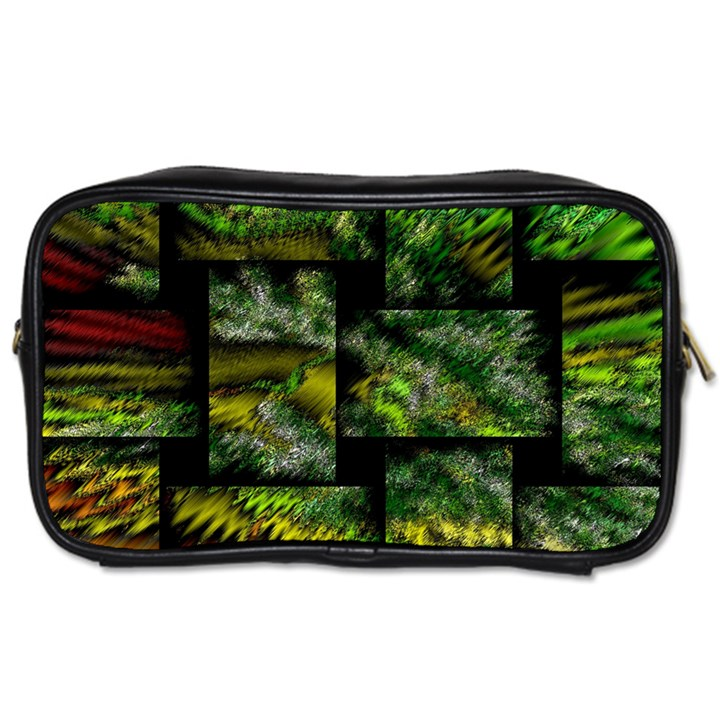 Modern Art Travel Toiletry Bag (Two Sides)