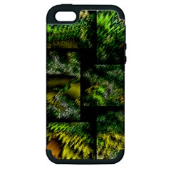 Modern Art Apple iPhone 5 Hardshell Case (PC+Silicone)