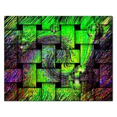 Modern Art Jigsaw Puzzle (Rectangle)