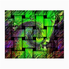 Modern Art Glasses Cloth (Small, Two Sided)