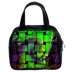 Modern Art Classic Handbag (two Sides)