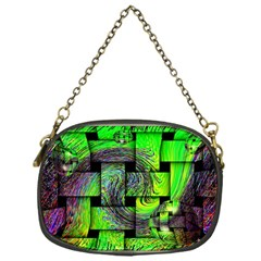 Modern Art Chain Purse (One Side)