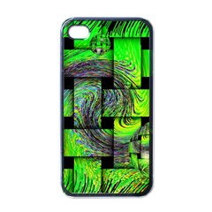 Modern Art Apple iPhone 4 Case (Black)