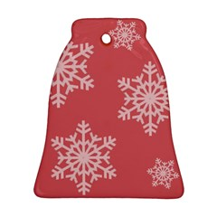 Let it snow Bell Ornament (Two Sides)