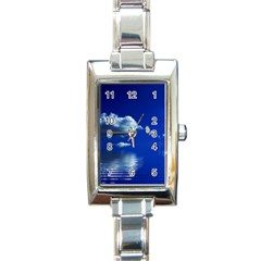 Sky Rectangular Italian Charm Watch