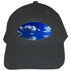 Sky Black Baseball Cap