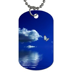 Sky Dog Tag (One Sided)