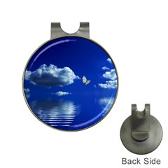 Sky Hat Clip With Golf Ball Marker