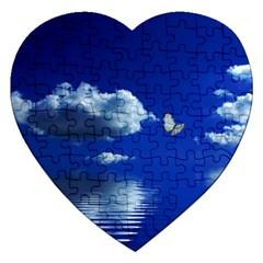 Sky Jigsaw Puzzle (heart)