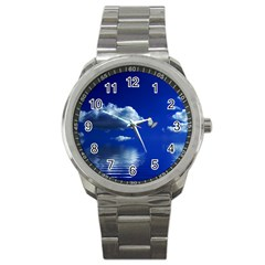 Sky Sport Metal Watch