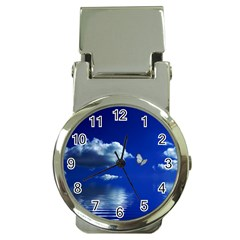 Sky Money Clip with Watch
