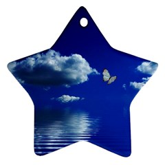 Sky Star Ornament (two Sides)
