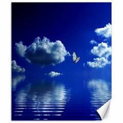 Sky Canvas 20  x 24  (Unframed)